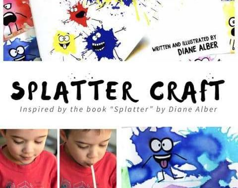 Splatter Creature Craft for Kids